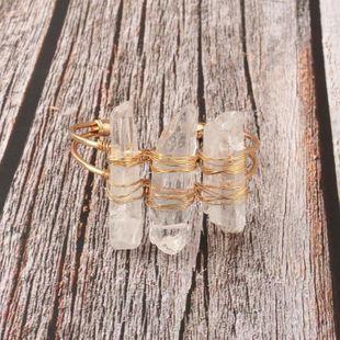 Womens Geometric Imitated crystal Bracelets & Bangles GO190430120122's discount tags