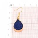 Womens teardrop plastic resin Retro water drop  Earrings GO190430119968