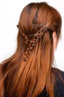 Womens Metal  Copper bow Hair Accessories XR190430120075