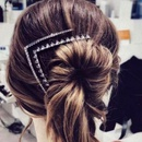 Womens Floral Plating Alloy Hair Accessories NT190430120084