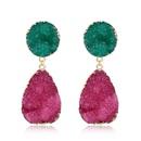 Womens Geometric Natural stone resin Earrings GO190430120121