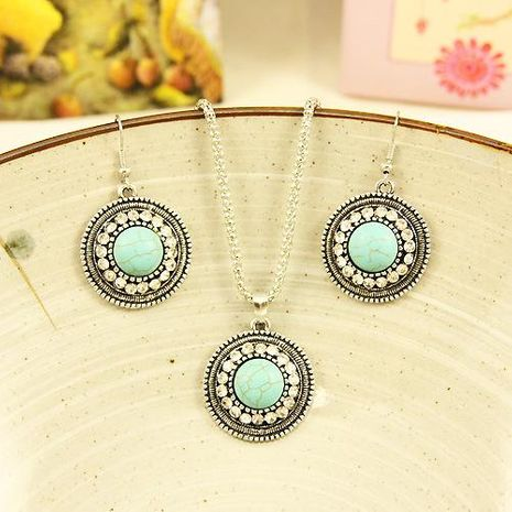 Womens Electroplated Alloy Jewelry Sets NHAS120808's discount tags