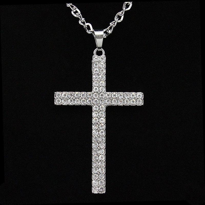 Womens crossstudded alloy ocesrio Necklaces NHAS120885