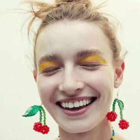 Womens Petal Resin Earrings NHMD120924's discount tags