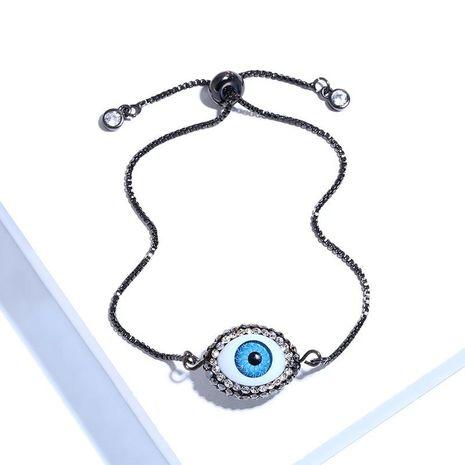 Womens geometric copper inlay zircon ocesrio Bracelets & Bangles NHAS120928's discount tags