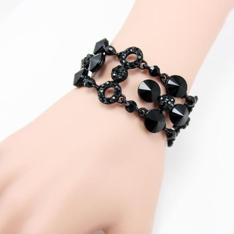 Womens floral electroplating alloy ocesrio Bracelets & Bangles NHAS120973's discount tags