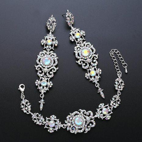 Womens Rhinestone Jewelry Sets NHAS120982's discount tags