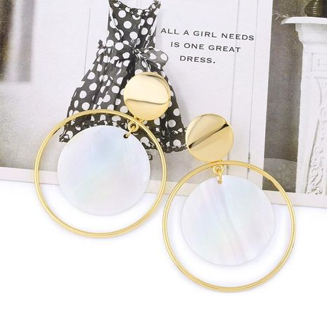 Womens geometric shells  beads and other Earrings NHAS121003's discount tags