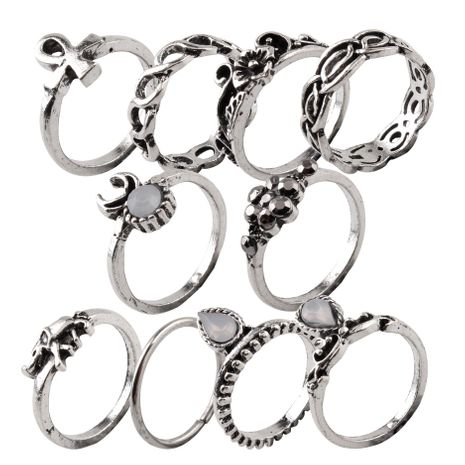 Womens Animals / Zodiac Plating Alloy Magnesium Ornaments Rings NHMD121007's discount tags
