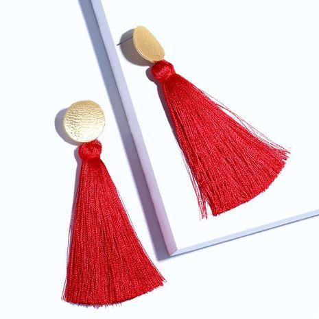Womens Geometric Tassels Other Earrings NHAS121042's discount tags