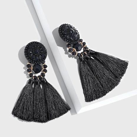Womens geometric tassels  resin  beads soaring Earrings NHAS121046's discount tags