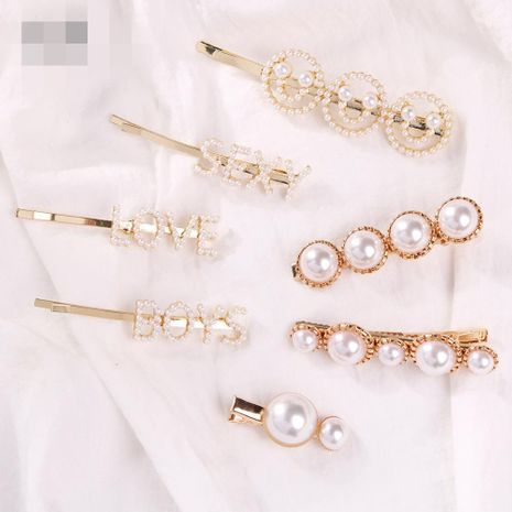 Womens Geometry Electroplated Alloy Magnesium Hair Accessories NHMD121053's discount tags