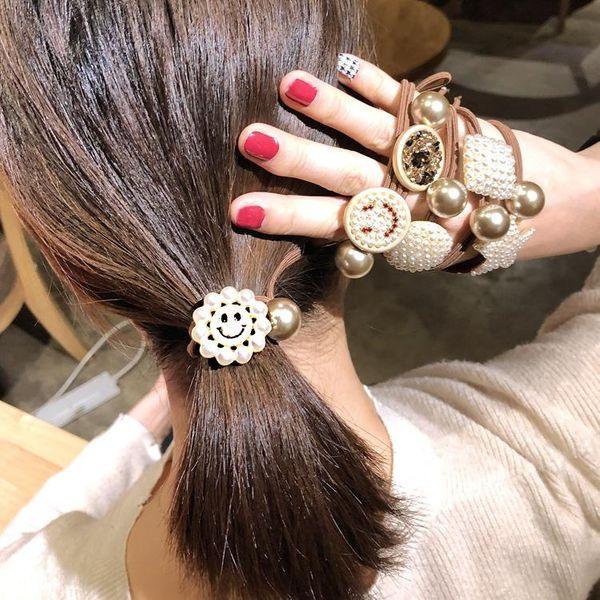 Couple Brass  Electric White Iron Hair Accessories NHOF121059