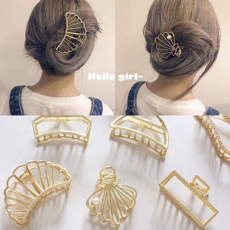 Retro minimalist wind metal Hair Accessories NHOF121107's discount tags