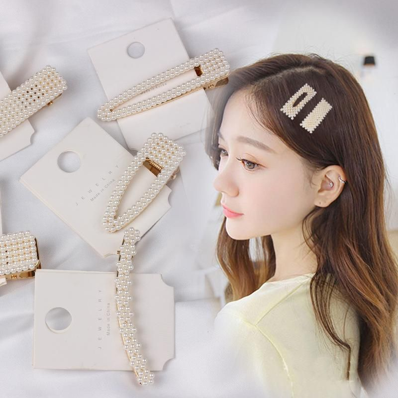 Womens Sweet beads Hair Accessories NHOF121134