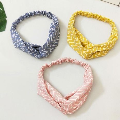 Womens Clothing Sweet wave pattern Hair Accessories NHOF121135's discount tags