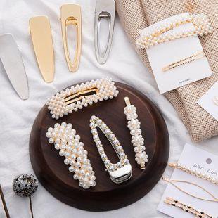 Womens geometric fabric Hair Accessories NHOF121147's discount tags