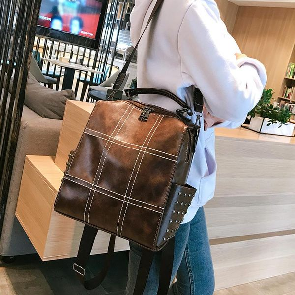 British Sensuo soft leather harbor lady backpack NHLD121229