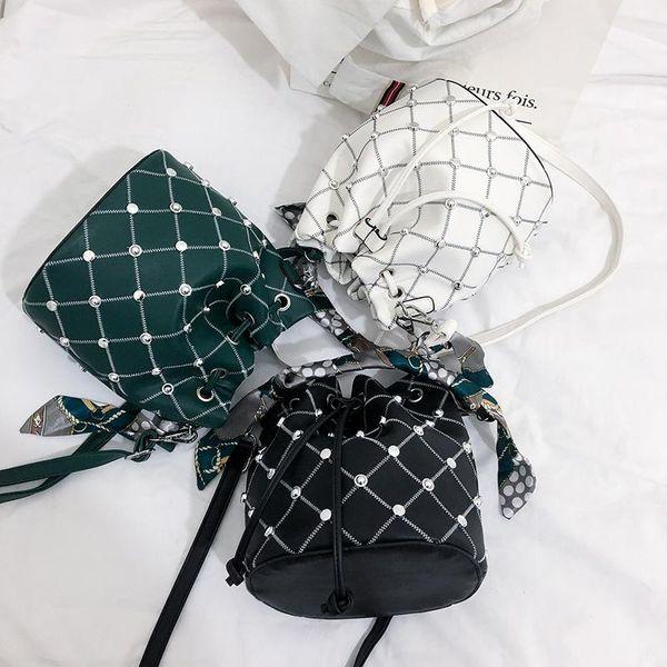 One-shoulder Korean version of the wild Messenger bag NHLD121245