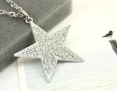 Womens geometric rhinestone alloy Necklaces NHAS120851