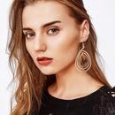 Womens Cross Plating Alloy Earrings NHMD120873