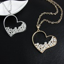 Womens heartshaped electroplated alloy Necklaces NHAS120910