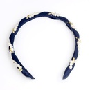 Childrens Beads rhinestone chiffon intertwined  Hair Accessories NHOF120947