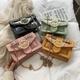Crossbody fashion rivet small square bag NHLD121251