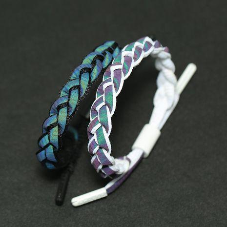 Unisex Geometric Alloy Couple weaving  Bracelets  NHPK121459's discount tags