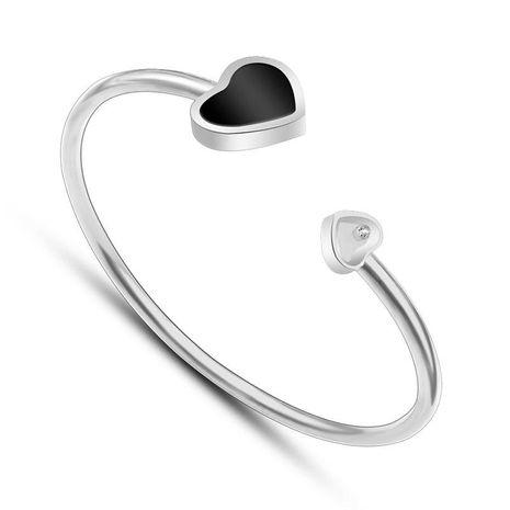Womens geometrically plated titanium steel Bracelet NHOK121466's discount tags