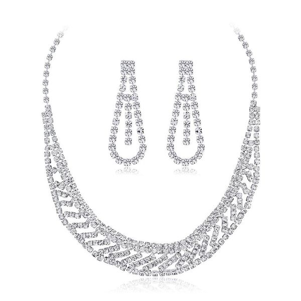 Womens Electroplated Copper Jewelry Sets NHDR121554