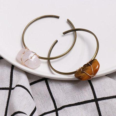 Womens Geometric trend Stone Alloy Bracelet NHJJ121636's discount tags
