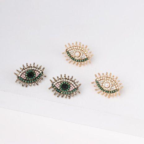 Fashion Womens Color Beads eye design earrings NHJJ121637's discount tags
