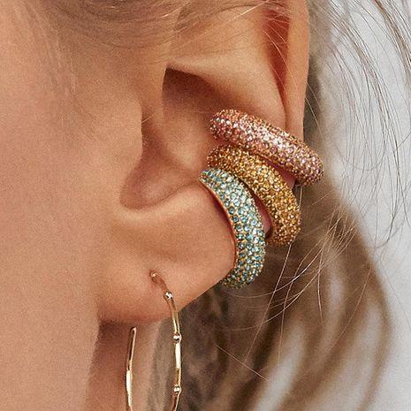 Womens Geometric Rhinestone Alloy Earrings NHJJ121646's discount tags