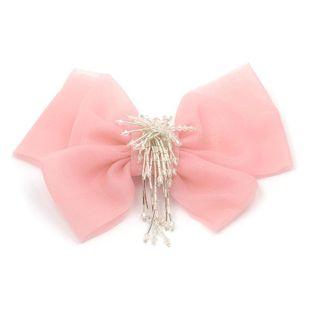 Sleek minimalist elegant bow brooch NHJJ121652's discount tags