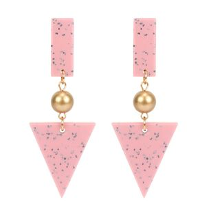 Fashionable temperament triangle delicate earrings NHCT121681's discount tags
