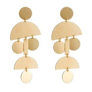 Fashion vintage geometric multilayer earrings NHJE121684's discount tags