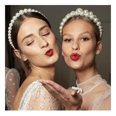 Womens Explosion models wild beads Headband NHJJ121714's discount tags