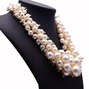 Womens geometric inlaid beads alloy Jiaqi jewelry Necklaces NHJQ121633