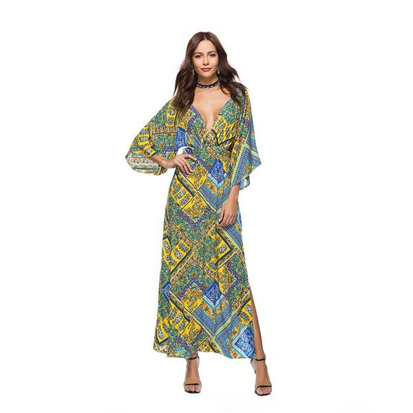 Fashion halter cropped sleeves NHDF121920