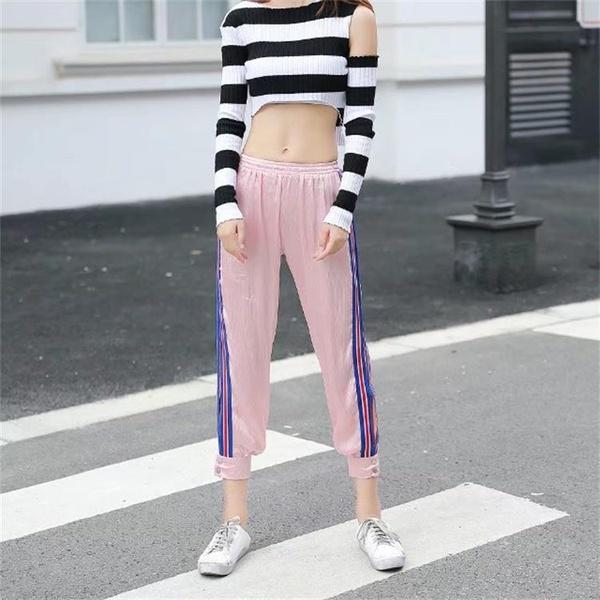New side striped sweatpants NHDS121928