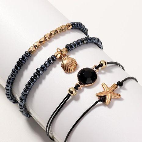 Pulsera de aleación para mujer marina serie shell estrellas de mar pulsera NHNZ121969's discount tags