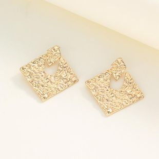 Womens Rhinestone Electroplating Rhinestone hollow  Alloy Earrings NHNZ122045's discount tags