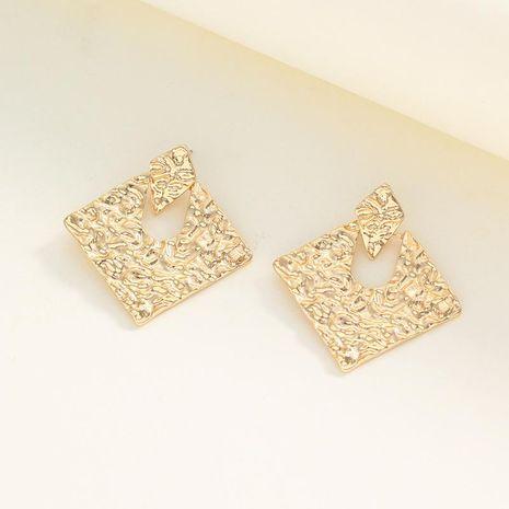 Pendientes de aleación hueca de diamante electrochapado de diamante para mujer NHNZ122045's discount tags