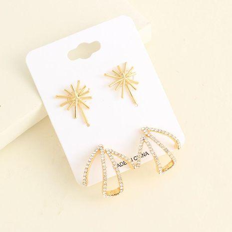 Pendientes de perlas de aleación irregular para mujer NHNZ122080's discount tags