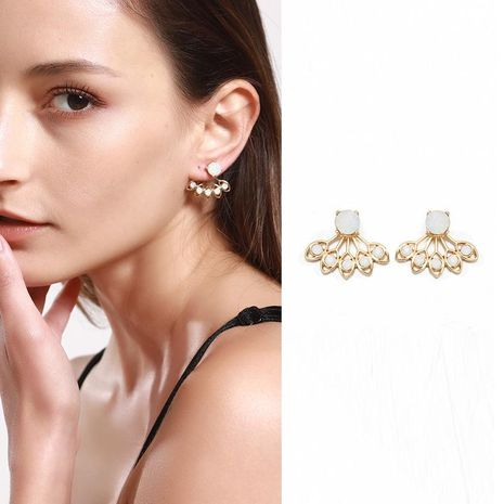 Pendientes para mujer Lotus Simple Plating Alloy NHNZ122126's discount tags