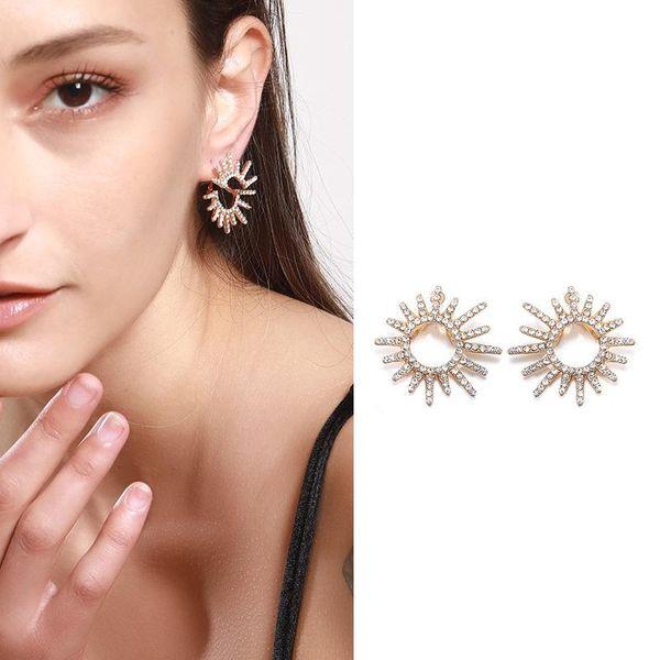 Womens Sun Alloy Turquoise Earrings NHNZ122140