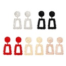 Womens Geometry Electroplating Alloy Earrings NHNZ122123