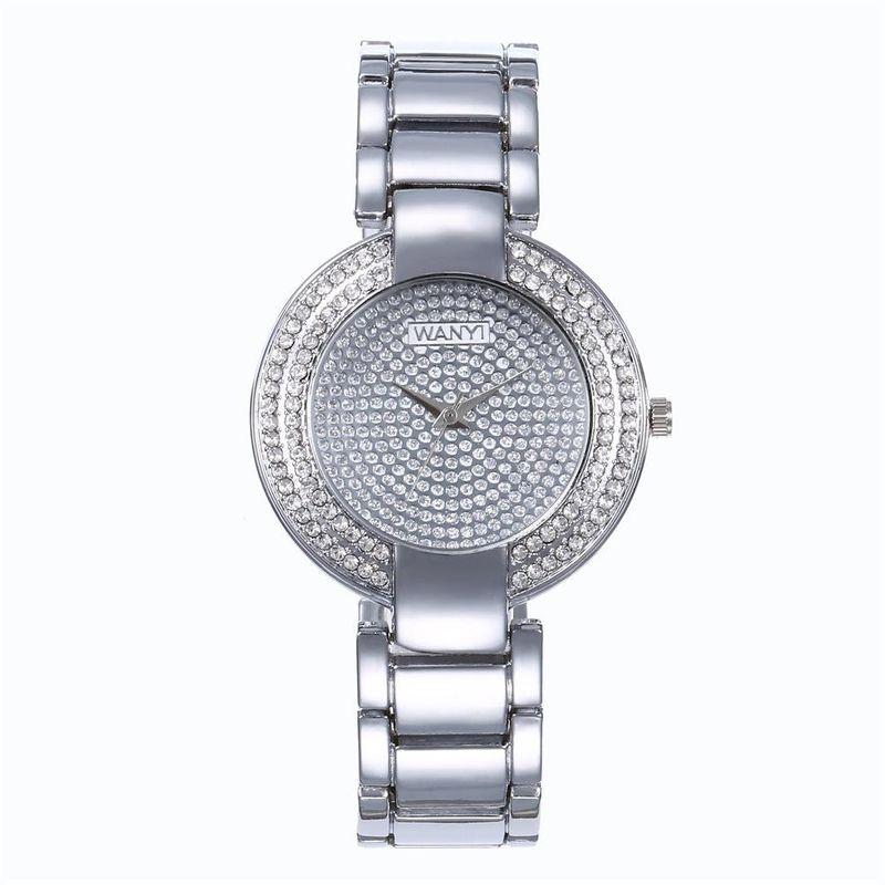 Fashion luxury starry alloy quartz watch NHHK122170