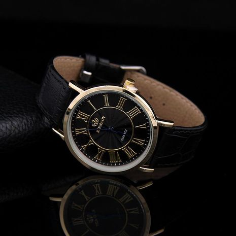 Classic fashion trend business men s extra thick belt watch NHSY122174's discount tags